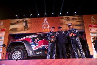 Podio: #308 X-Raid Mini JCW Team: Cyril Despres, Jean-Paul Cottret