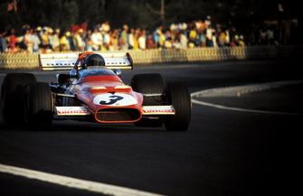 Race winner Jacky Ickx, Ferrari 312B