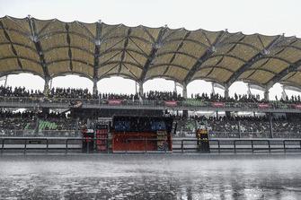 Regen am Sepang International Circuit