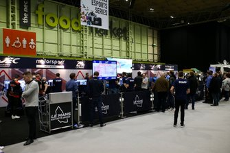 The Le Mans 24 Hour, WEC, Esports simulator stand