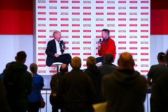 Gordon Shedden talks to Alan Hyde on the Autosport Stage