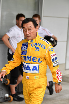 Satoru Nakajima at Legends F1 30th Anniversary Lap Demonstration