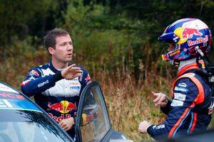 Sébastien Ogier, M-Sport Ford WRT, Thierry Neuville, Hyundai Motorsport