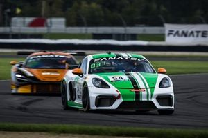 #54 Black Swan Racing Porsche 718 Cayman GT4 CS MR: Tim Pappas, Jeroen Bleekemolen, Sebastiaan Bleekemolen