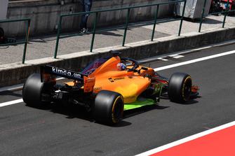 Lando Norris, McLaren MCL33 with aero paint