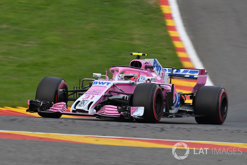 12. Esteban Ocon, Racing Point Force India VJM11