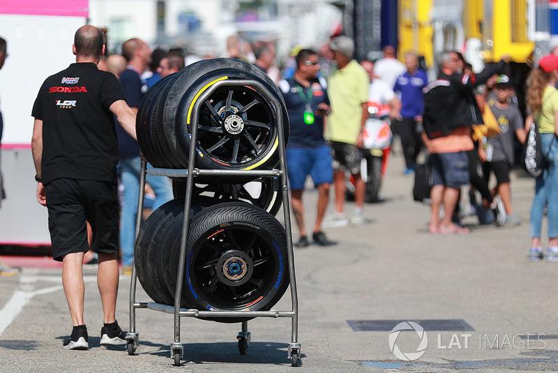 Pneumatici Michelin nel paddock