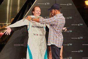 Lewis Hamilton és Palvin Barbara, Budapest