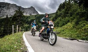 Teilnehmer am Alpenbrevet