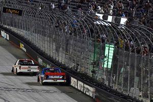 Johnny Sauter, GMS Racing, Chevrolet Silverado GMS Fabrication celebrates his win