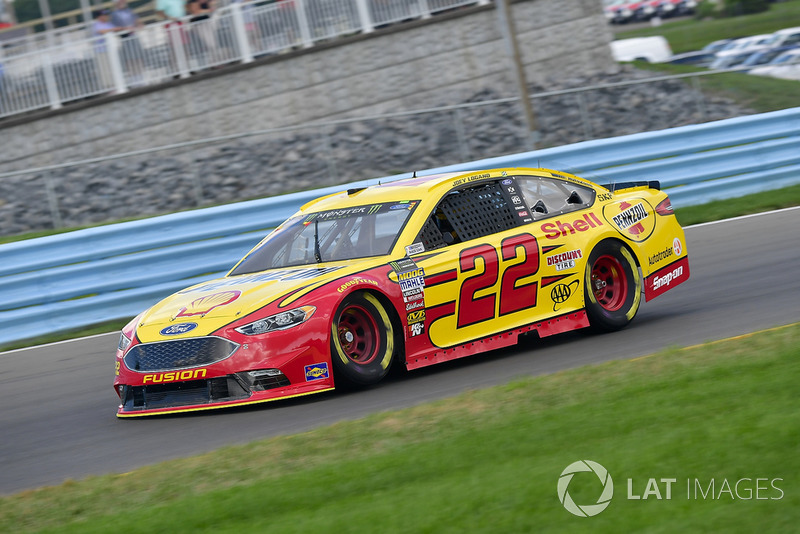 6. Joey Logano, Team Penske, Ford Fusion Shell Pennzoil