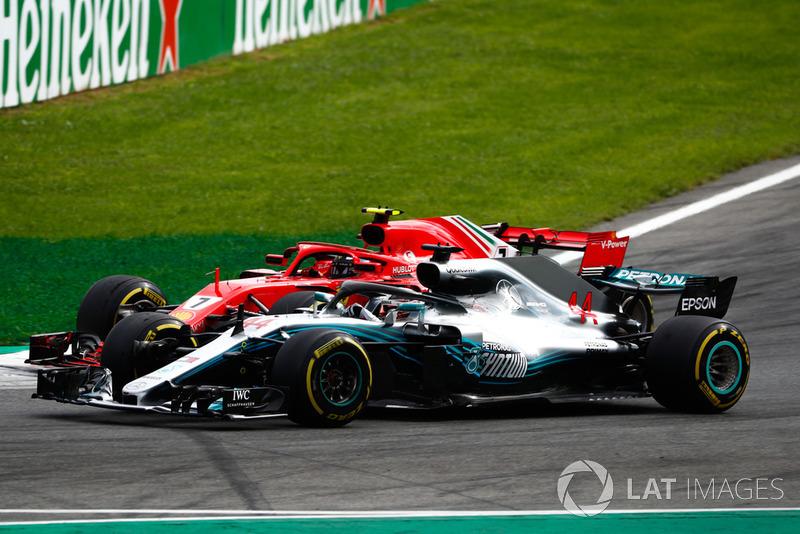 Hamilton is applauded for race-winning move over Raikkonen