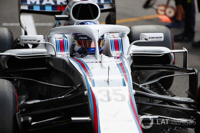 12e : Sergey Sirotkin (Williams)