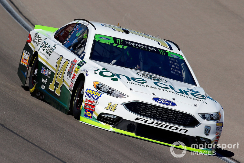 15. Clint Bowyer, Stewart-Haas Racing, Ford Fusion One Cure
