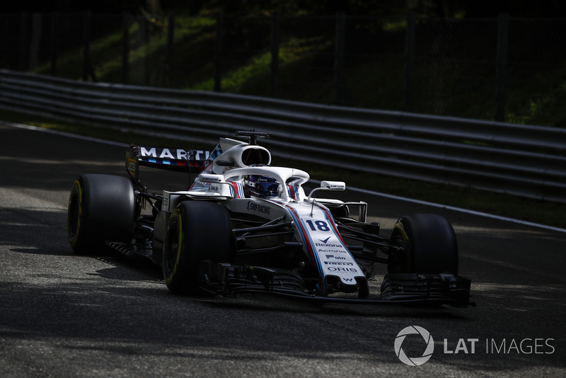 10: Lance Stroll, Williams FW41, 1'21.627