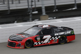 Garrett Smithley, Premium Motorsports, Chevrolet Camaro Victory Lane Quick Oil Change