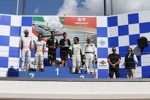Podio GTCup Gara 1: Davide Di Benedetto, Island Motorsport, Nicolosi-La Mazza, Ebimotors Pisani-Sauto