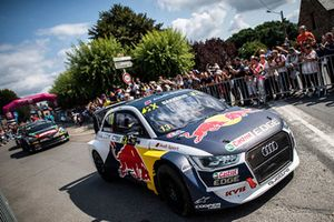 Andreas Bakkerud, EKS Audi Sport, during the parade
