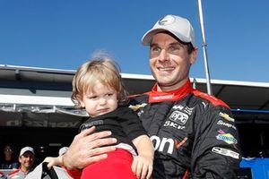 Will Power, Team Penske Chevrolet con su hijo, Beau William