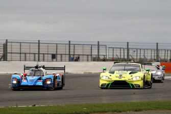 #11 SMP Racing BR Engineering BR1: Mikhail Aleshin, Vitaly Petrov, Jenson Button, #97 Aston Martin Racing Aston Martin Vantage AMR: Alex Lynn, Maxime Martin