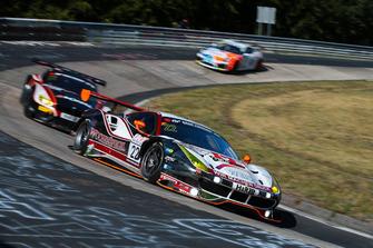 #22 Wochenspiegel Ferrari 488 GT3: Georg Weiss, Oliver Kainz, Jochen Krumbach
