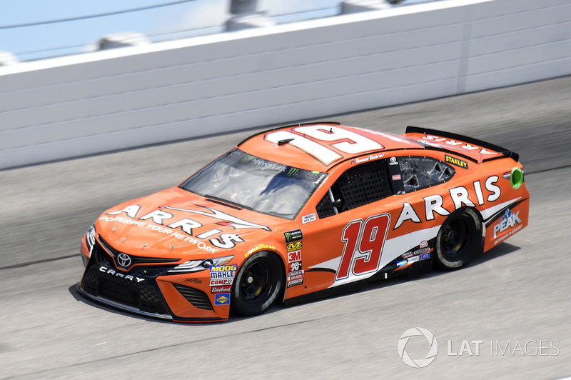 Daniel Suarez, Joe Gibbs Racing, Toyota Camry *