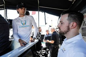 Colton Herta, Harding Racing Chevrolet, engineer
