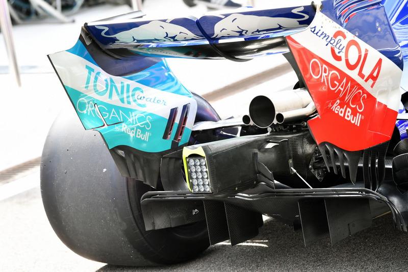 Scuderia Toro Rosso STR13 parte trasera
