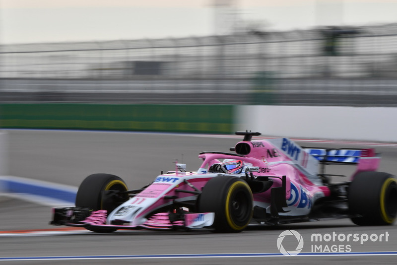 8: Серхио Перес, Racing Point Force India VJM11, 1'33.563