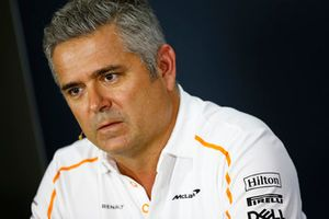 Gil de Ferran, Sporting Director, McLaren, in the Team Principals' Press Conference
