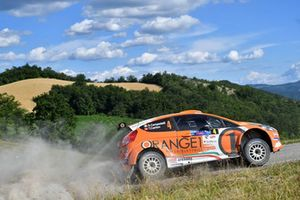 Simone Campedelli, Tania Canton, Ford Fiesta R5, Orange1 Racing