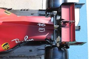 الجناح الخلفي لسيارة فيراري اس.اف21