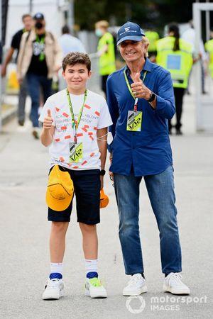 Emerson Fittipaldi met zijn zoon Emerson Fanucchi Fittipaldi