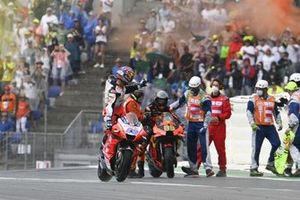 Brad Binder, Red Bull KTM Factory Racing, Jorge Martin, Pramac Racing