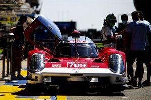 #709 Glickenhaus Racing Glickenhaus 007 LMH Hypercar di Ryan Briscoe, Richard Westbrook, Romain Dumas