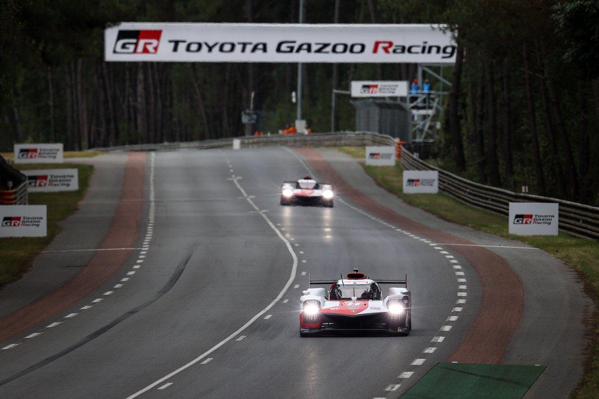#8 Toyota Gazoo Racing Toyota GR010 - Hybrid Hypercar, Sébastien Buemi, Kazuki Nakajima, Brendon Hartley, #7 Toyota Gazoo Racing Toyota GR010 - Hybrid Hypercar, Mike Conway, Kamui Kobayashi, Jose Maria Lopez