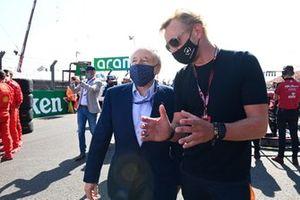 Jean Todt, President, FIA and Jean Todt, President, FIA and Prince Bernhard of Orange-Nassau on the grid