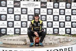 Race winner Colton Herta, Andretti Autosport w/ Curb-Agajanian Honda