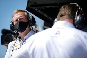 Patricio O'Ward, Arrow McLaren SP Chevrolet, Taylor Kiel