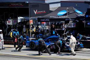 #10: Alex Palou, Chip Ganassi Racing Honda, #27: Alexander Rossi, Andretti Autosport Honda, #9: Scott Dixon, Chip Ganassi Racing Honda, podio