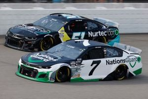 Josh Berry, Spire Motorsports, Chevrolet Camaro Nations Guard, Cody Ware, Petty Ware Racing, Chevrolet Camaro Nurtec ODT