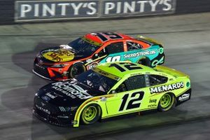 Ryan Blaney, Team Penske, Ford Mustang Menards/Richmond and Martin Truex Jr., Joe Gibbs Racing, Toyota Camry Bass Pro Shops/Sherry Strong