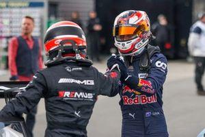 Lucas Auer, Mercedes AMG Team Winward, Liam Lawson, AF Corse