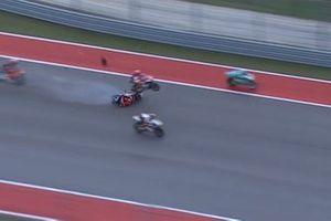 L'incidente in Moto3