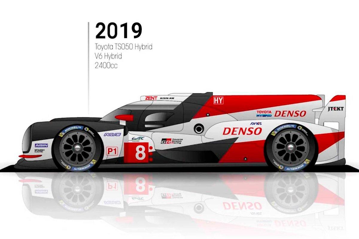 2019: Toyota TS050 Hybrid