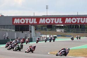 Toprak Razgatlioglu, PATA Yamaha WorldSBK Team, Michael Ruben Rinaldi, Aruba.It Racing - Ducati, Alex Lowes, Kawasaki Racing Team WorldSBK