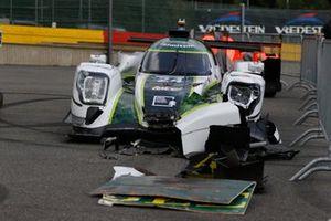 #24 Algarve Pro Racing Oreca 07 - Gibson LMP2, Diego Menchaca, Ferdinand Habsburg, Richard Bradley, after the crash
