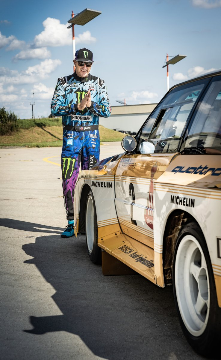 Ken Block, Audi Sport quattro S1