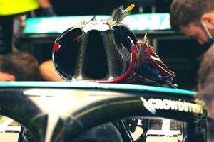 Mercedes AMG W12 Roll-bar