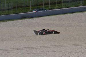 Nico Gohler, KIC Motorsport fuori pista